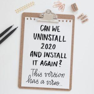 Designstories | Freebies | Uninstall 2020